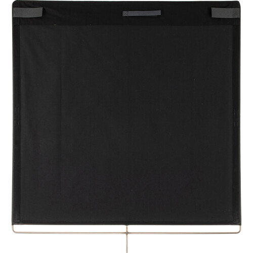 """The Rag Place Solid Floppy Black Flag (48 x 48"""")"""