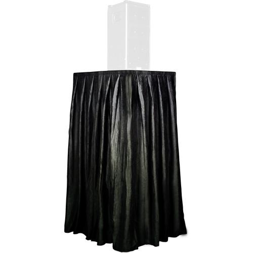 The Screen Works Skirt For Equipment Tower (Black)