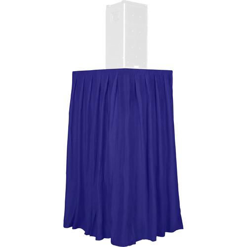 The Screen Works Skirt For Equipment Tower (Blue)