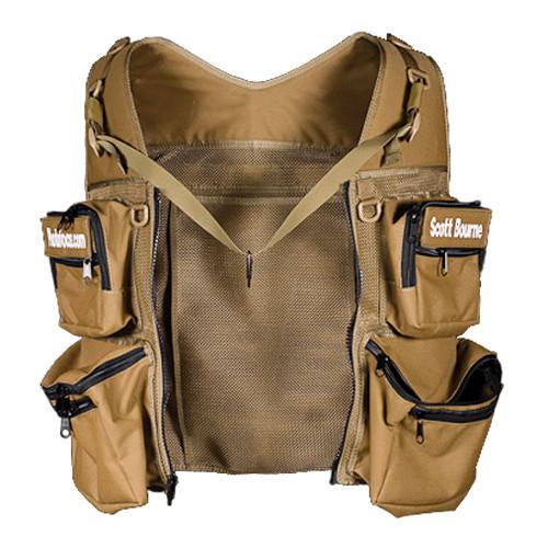 THE VEST GUY Scott Bourne Mesh Photo Vest (XX-Large, Black)