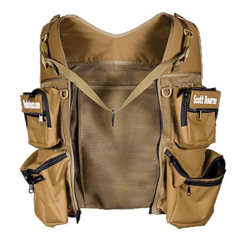 THE VEST GUY Scott Bourne Mesh Photo Vest (X-Large, Coyote)