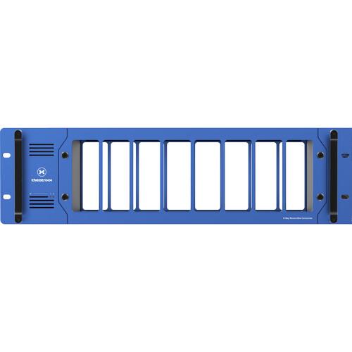 Theatrixx Technologies RackMount Video Converter 8-Bay Reversible Frame (3RU)