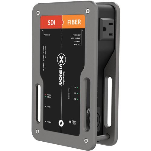 Theatrixx Technologies SDI To Fiber ST xVision Converter (North American Version Edison Out)