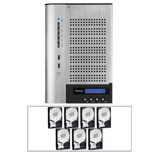 Thecus N7510 7-Bay SMB Tower NAS Server Kit (14TB)