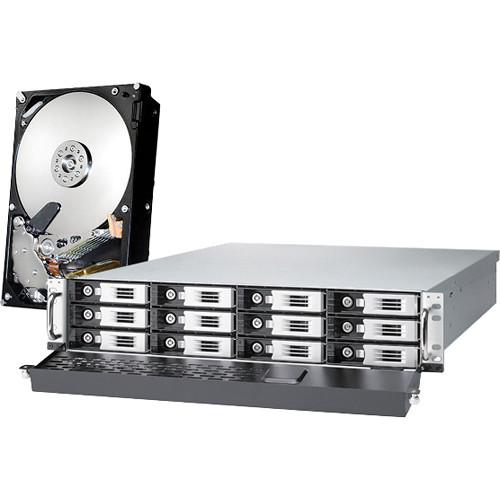 Thecus Thecus 36TB (12 x 3TB) N12000PRO 12-Bay Enterprise-Class NAS Server Kit