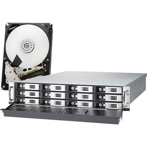 Thecus Thecus 48TB (12 x 4TB) N12000PRO 12-Bay Enterprise-Class NAS Server Kit