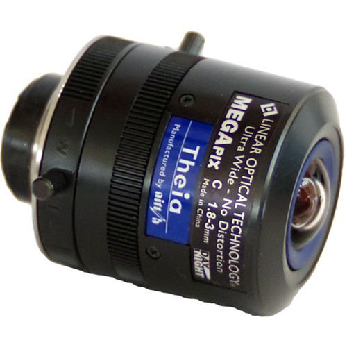 Theia Technologies ML183M C-Mount 1.8-3mm Varifocal Lens