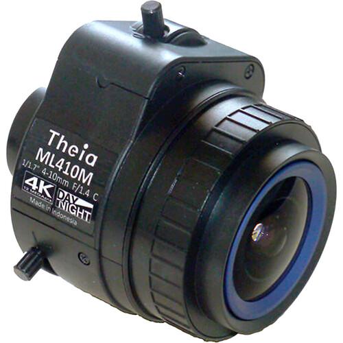 Theia Technologies ML410 C-Mount 4-10mm Varifocal Lens