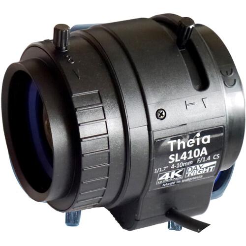 Theia Technologies SL410 4-10 mm CS-Mount F/1.4 4K DC Auto-Iris Varifocal Lens