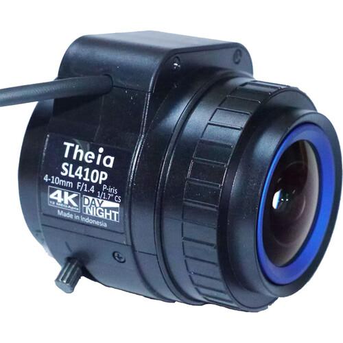 Theia Technologies SL410 4-10 mm CS-Mount F/1.4 4K DC P-Iris Varifocal Lens