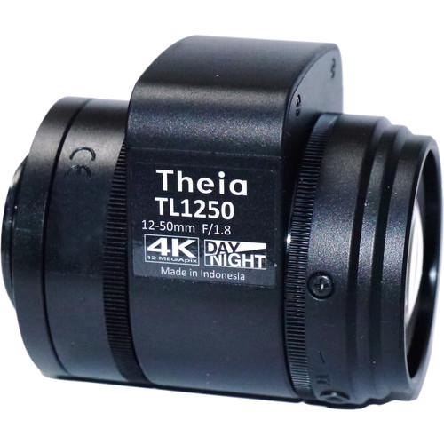 Theia Technologies CS-Mount 12-50mm f/1.8-Close 4K IR-Corrected Motorized Auto-Iris Varifocal Lens
