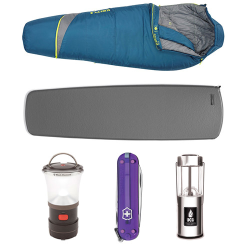 Therm-a-Rest Cool Weather Sleeping Bag/Pad Kit
