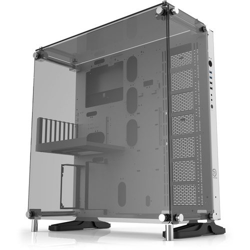 Thermaltake Core P5 Tempered Glass Snow Edition ATX Mid-Tower Wall-Mount Chassis (White & Black)