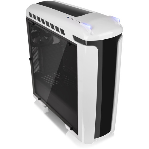 Thermaltake Versa C22 RGB Snow Edition ATX Mid-Tower Chassis (Black & White)