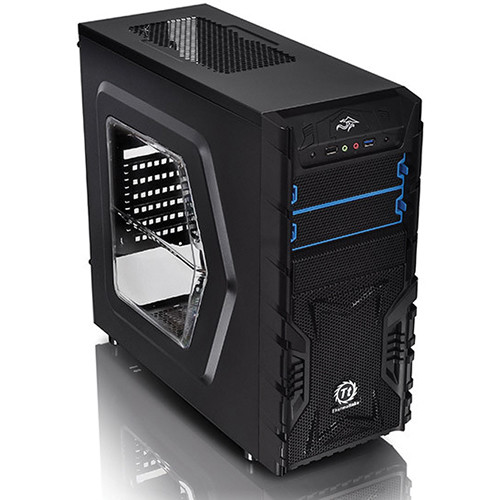 Thermaltake Versa H23 Mid-Tower Window Chassis (Black)