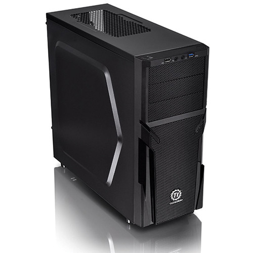 Thermaltake Versa H21 Mid-Tower Chassis (Black)