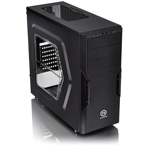 Thermaltake Versa H22 Mid-Tower Window Chassis (Black)