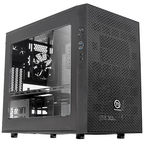 Thermaltake Core X1 ITX Cube Chassis (Black)