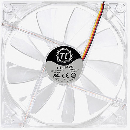 Thermaltake Pure 14 LED Cooling Fan (White)