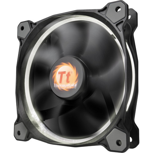 Thermaltake Riing 12 LED 120mm Radiator Fan (White)