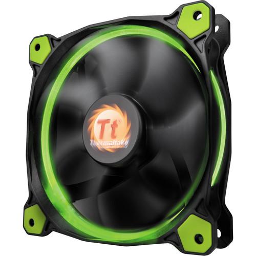 Thermaltake Riing 14 LED 140mm Radiator Fan (Green)