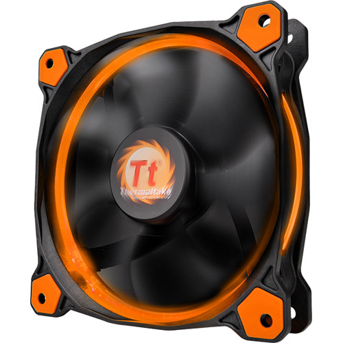 Thermaltake Riing 14 LED 140mm Radiator Fan (Orange)