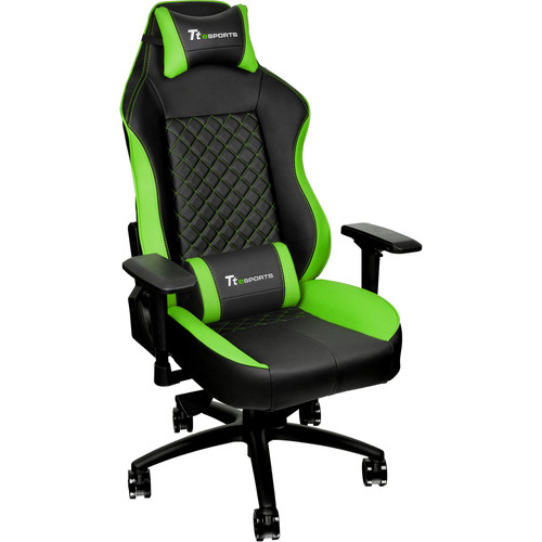 Thermaltake Tt eSports GT Comfort C500 Gaming Chair (Green & Black)