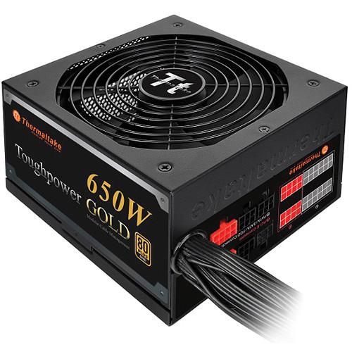 Thermaltake Toughpower 650W 80 PLUS Gold Modular Power Supply (Black)