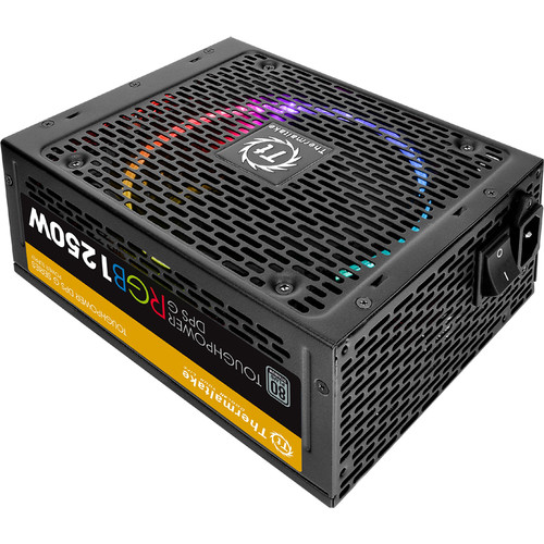 Thermaltake Toughpower DPS G RGB 1250W Titanium Power Supply with Smart Power Management