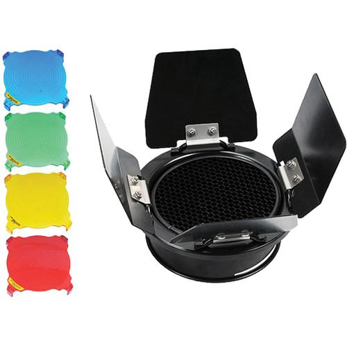 LED Light Cube Barndoor and Honeycomb Grid Set for LED Light Cube
