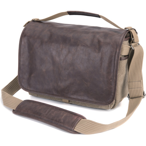 Think Tank Photo Retrospective 30 Shoulder Bag (Sandstone with Leather)