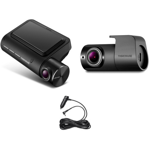 Thinkware F800 PRO Wi-Fi Dash Cam with 32GB microSD Card, Rear View Camera & Car Charger Kit