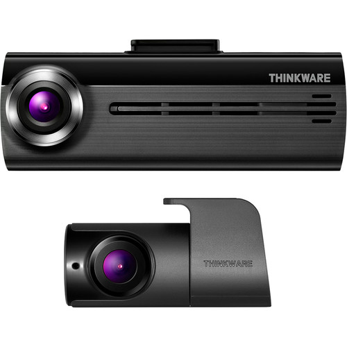 Thinkware FA200 1080p Wi-Fi Dash Cam with Rear View Camera, 16GB microSD Card & Hardwiring Cable