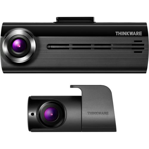 Thinkware FA200 1080p Wi-Fi Dash Cam with Rear View Camera, 32GB microSD Card & Car Power Cable