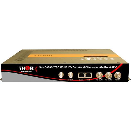 Thor 2-Channel HDMI/YPbPr/CVBS to Digital RF Encoder Modulator System