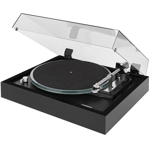 THORENS TD148A Fully Automatic Three-Speed Stereo Turntable (Black)