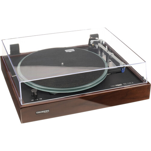 THORENS TD148A Fully Automatic Three-Speed Stereo Turntable (Walnut)