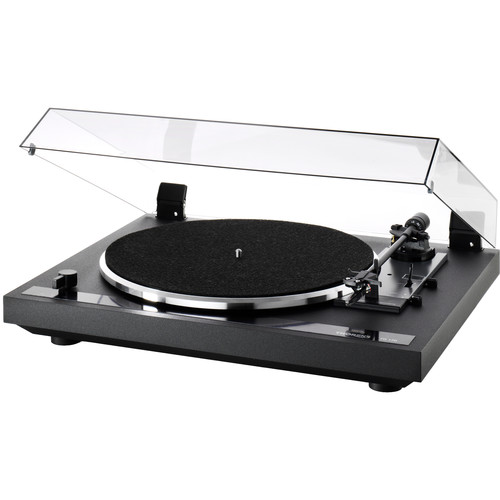 THORENS TD170 EV Three-Speed Stereo Turntable with Built-In Preamp (Black)