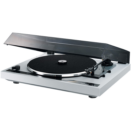 THORENS TD170 EV Three-Speed Stereo Turntable with Built-In Preamp (Silver)