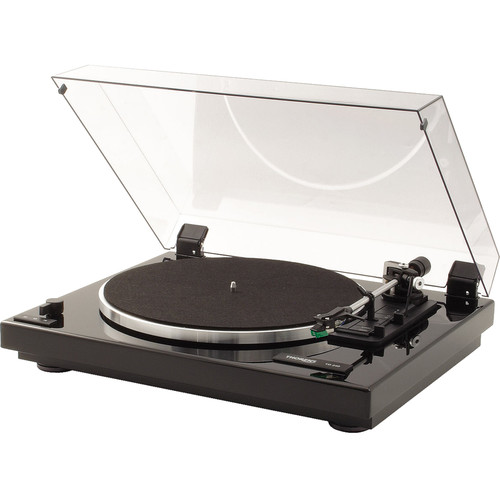 THORENS TD240-2 Fully Automatic Three-Speed Stereo Turntable (High Gloss Black)