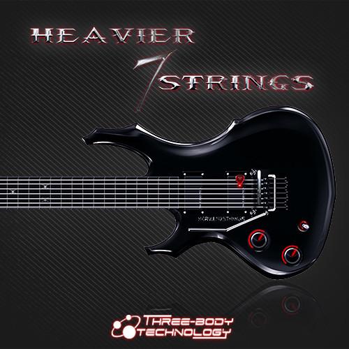 THREE-BODY TECHNOLOGY Heavier 7 Strings Metal Guitar Virtual Instrument Plug-In (Download)