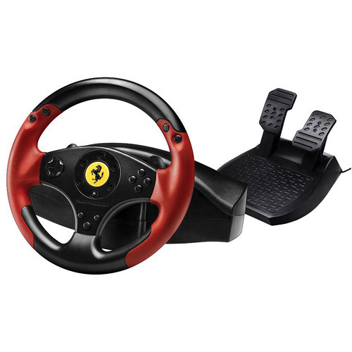 Thrustmaster Ferrari Red Legend Edition Wheel and Pedals Set