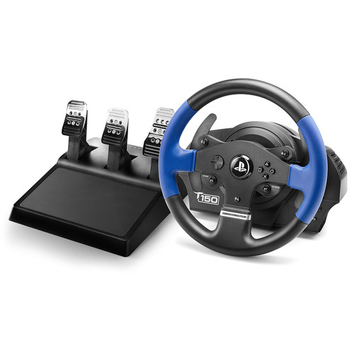 Thrustmaster T150 PRO Racing Wheel with T3PA Wide 3-Pedal Set