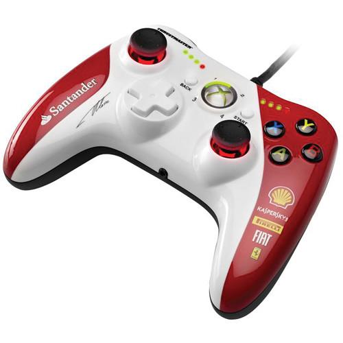 Thrustmaster 4460098 GPX LightBack Gamepad Ferrari F1 Edition for Xbox 360 / PC