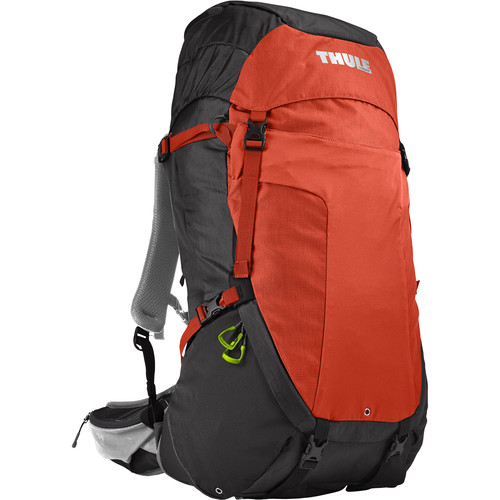 Thule Men's Capstone 50L Hiking Backpack (Dark Shadow/Roarange)