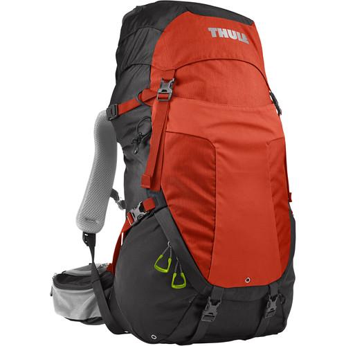 Thule Men's Capstone 40L Day Hiking/Overnight Backpack (Dark Shadow/Roarange)