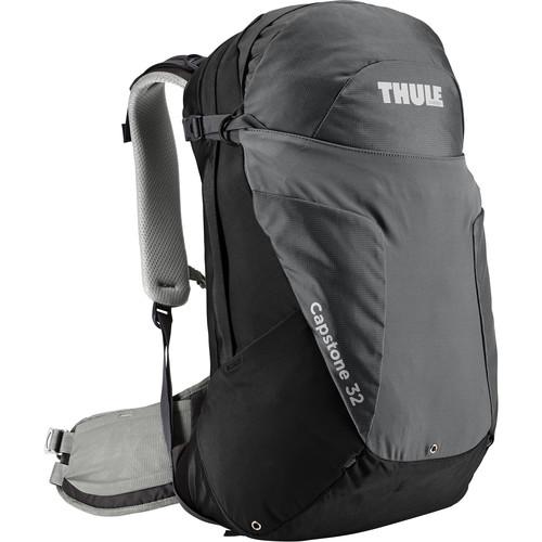 Thule Men's Capstone 32L Day Hiking Backpack (Black/Dark Shadow)