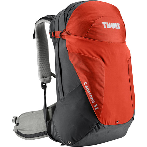 Thule Men's Capstone 32L Day Hiking Backpack (Dark Shadow/Roarange)