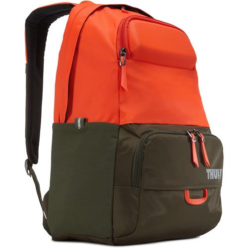 "Thule Departer 21L Daypack for 15"" Laptop (Drab/Roarange)"
