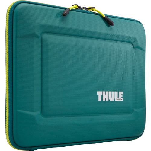 "Thule Gauntlet 3.0 13"" MacBook Pro Sleeve (Storm Green/Leichen Yellow)"